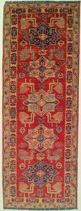 Carpet runner Kazak 219 x 81