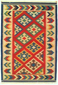 Tappeto Kilim Gashgai 185 x 127 V