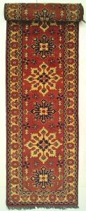 Tappeto passatoia Afghan 341 x 78  V