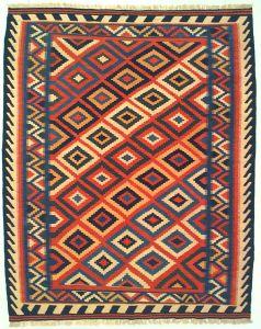 Tappeto Kilim Gashgai Extra 190 x 151  V