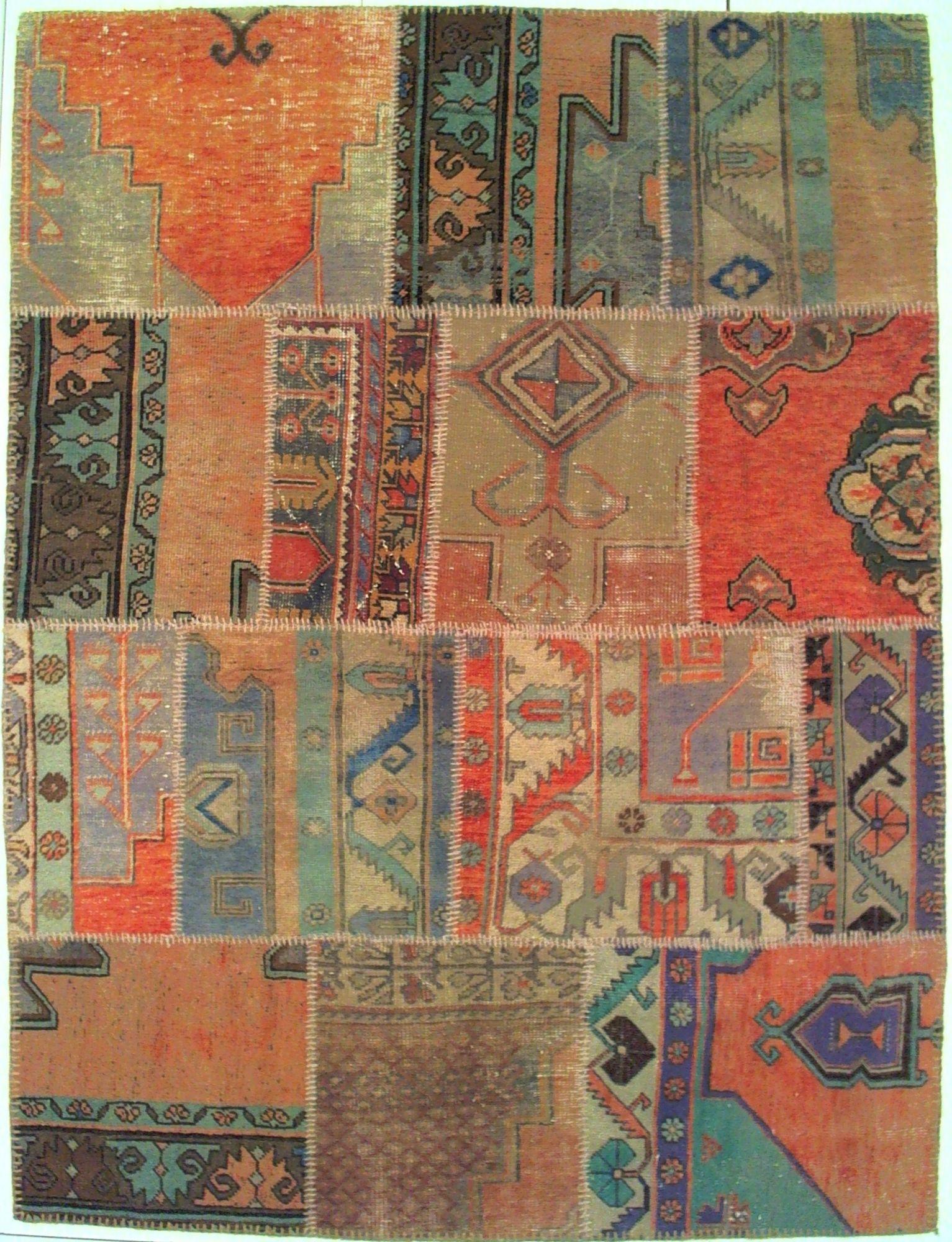 Tappeto patchwork 200 x 150 - Tappeti bagno grandi ...
